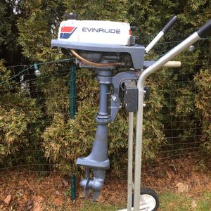 Evinrude 2hp Outboard Motor for Sale in Westbrook, CT