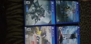Ps4 Games need hone asap for Sale in Ligonier, IN