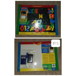 Melissa and Doug learning board for Sale in Bristow,  VA