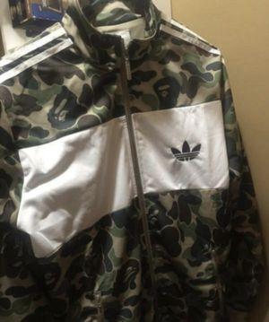 Bape Adidas jacket Large for Sale in Virginia Beach, VA