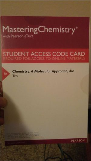 MasteringChemistry Access Code for Sale in Crestview, FL