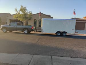 Enclosed trailer 16' for Sale in Gilbert, AZ