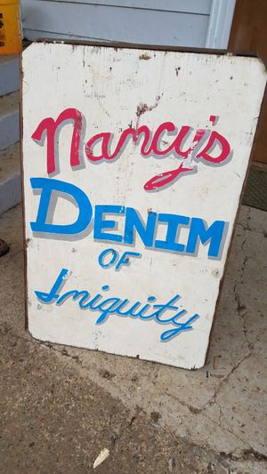 Vintage Business Sign for Sale in Montesano, WA