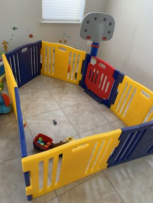 Baby playpen/fence. 8 panels with door for Sale in San Diego, CA