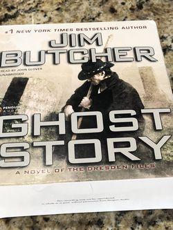 Jim Butcher Ghost Story Audiobook for Sale in Oakwood,  GA
