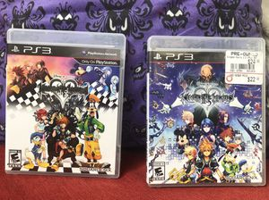 PlayStation 3 Disney Kingdom Hearts Games 2pcs for Sale in Davie, FL