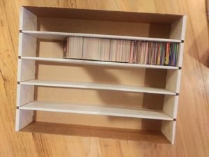 Baseball cards storage box and cards for Sale in Kenmore, WA