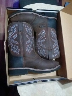 Steel toe work boots size 12 for Sale in Dickinson, TX