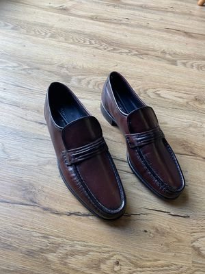 Florsheim Dress Shoes - Como Black Cherry Leather Dressy Slip On Size 9D - New in box for Sale in Rochester, MN