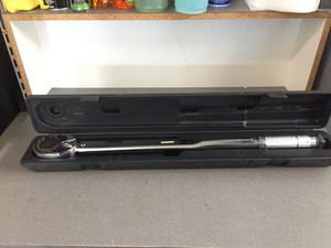 "Pittsburgh 3/4"" 50-300 ft/lb torque wrench for Sale in Winter Park, FL"