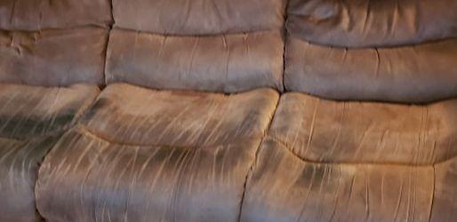 Manual Reclining Sofa for Sale in Livonia,  MI