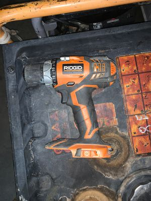 Ridgid 18v Drill and circular saw for Sale in Phoenix, AZ