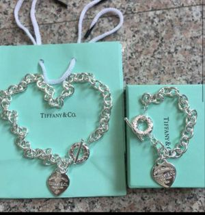 Tiffany necklace and bracelet set for Sale in North Richland Hills, TX