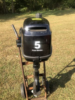 Coleman 5hp outboard motor for Sale in Brownsville, PA