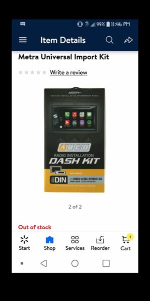 🎶Dash Kit BRAND NEW to install your stereo $18.28 reg price asking ONLY $10🎵 for Sale in Escondido, CA