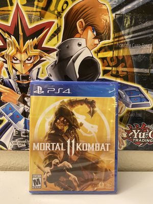Selling My Brand New Factory Sealed Mortal Kombat 11 PS4 Game. for Sale in San Diego, CA