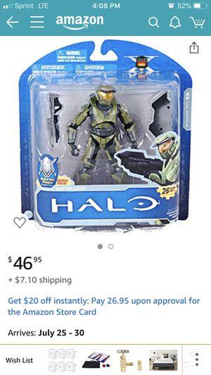 Halo master chief collectibles Halo Reach, halo 2, Cortana, carter, spartan gungnir, skirmisher murmillo action figures collectibles for Sale in LACKLAND, TX