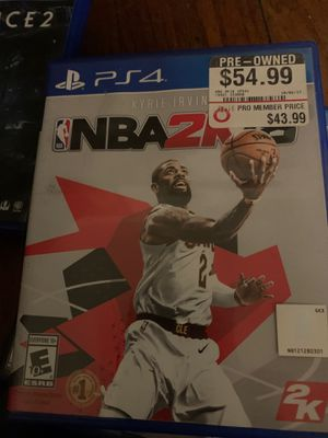 NBA 2k18 for Sale in Anaheim, CA