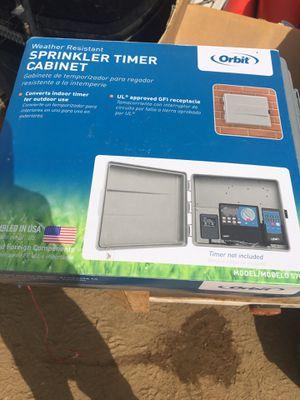 Orbit sprinkler timer cabinets 2 for Sale in Oceanside, CA