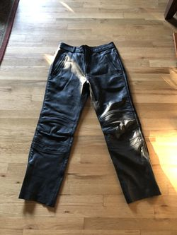 First Gear Leather motorcycle trousers/ pants for Sale in Portland,  OR