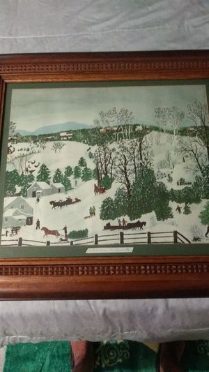 Out for the Christmas Trees by Grandma Moses for Sale in Las Vegas, NV