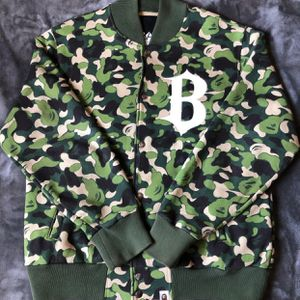 Bape Green Abc Camo Varsity for Sale in Riverside, CA
