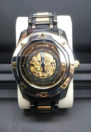 Croton CN307069 LIMITED ED. 0112/1878 skeleton automatic watch for Sale in Castle Rock, CO