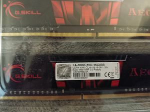 16 gigs G.skill aegis 3000mhz ddr4 pc ram for Sale in Nicholasville, KY