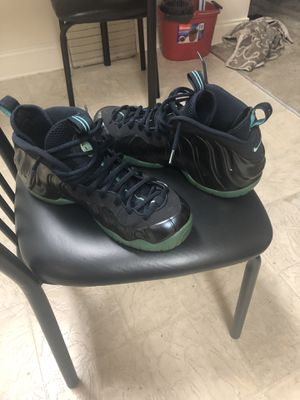 Obsidian Aqua Foamposite for Sale in Forest Heights, MD
