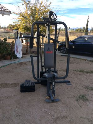 Weider 8530 Workout Machine (Take AS IS) for Sale in Hesperia, CA