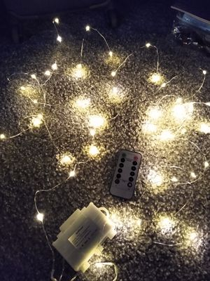 17 ft fairy string light with remote control for Sale in Waukegan, IL