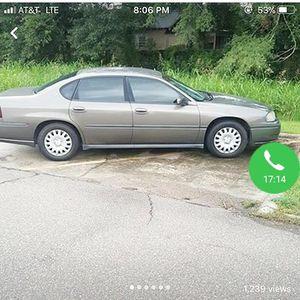 03 Chevy Impala for Sale in Saint Francisville, LA