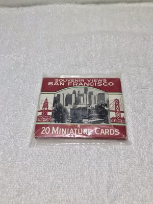 VINTAGE San Francisco Scenic Views Miniature Cards for Sale in Graham, WA