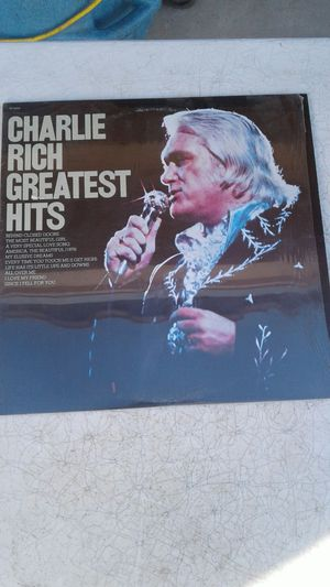 CHARLIE RICH GREATEST HITS ALBUM for Sale in Glendale, AZ