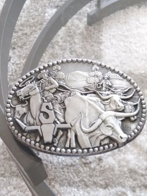 Collectibles..Vintage fine Pewter western Belt Buckles . Zee Series.very nice for Sale in Lincoln Acres, CA