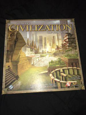 Civilization board game for Sale in Peabody, MA