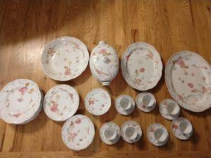 Haviland Limoges Rose De France China Set- Dinner ware. for Sale in Battle Ground, WA