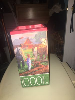 New 18x24 1000 piece Puzzle for Sale in Pottstown, PA