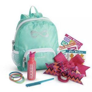 American Girl Nfinity Cheer Set Backpack for Sale in Riverside, CA