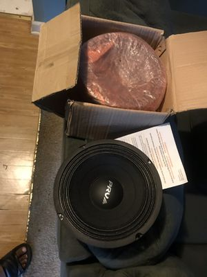 8 inch PRV midrange for Sale in Durham, NC