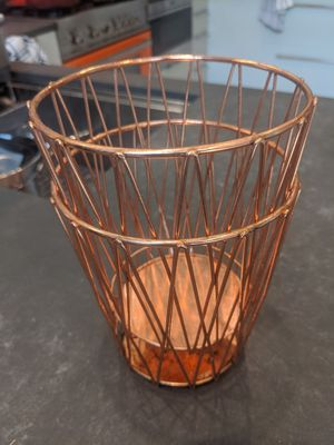 Two bronze kitchen utensil holders for Sale in Brooklyn, NY