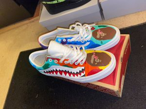 Bape Custom Vans Size 9.5 for Sale in Seagoville, TX