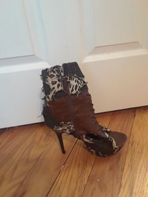Animal and leather heel for Sale in Pittsburgh, PA