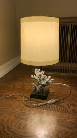 Coral side table Lamp for Sale in San Diego, CA