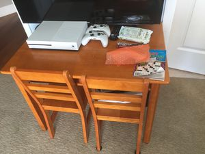 Kids play table with 4 chairs for Sale in Parker, CO