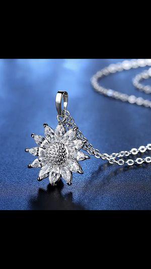 Brand Big Sunflower Necklace for Sale in Phoenix, AZ