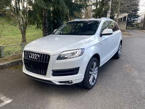 2015 Audi Q7 S-Line fully loaded for Sale in Portland, OR