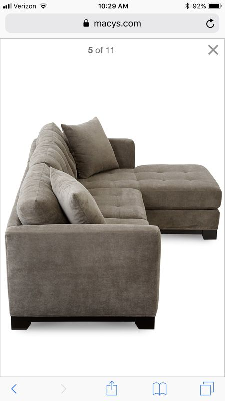 Phenomenal Elliot Fabric Microfiber 2Pc Chaise Sectional Sofa Must Lamtechconsult Wood Chair Design Ideas Lamtechconsultcom
