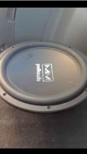 Selling one speaker for $85 Polk audio mm1240svc for Sale in Sacramento, CA