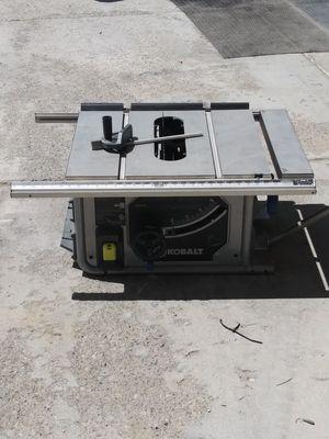 Cobalt Table saw for Sale in Draper, UT